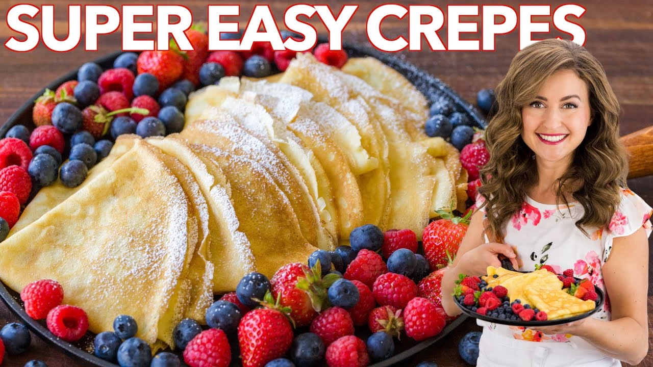 How to make Crepes | Easy Crepe Recipe