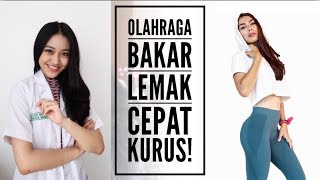 OLAHRAGA PENURUN BERAT BADAN !  ft. Yulia Baltschun | Clarin Hayes