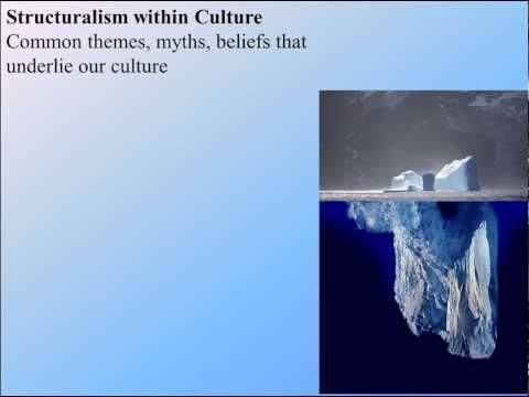 Module 09 - Structuralism and Popular Culture