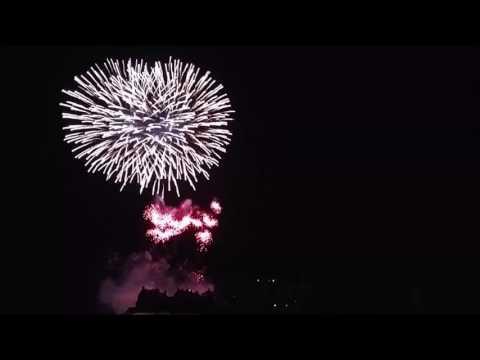 Edinburgh Festival Fireworks 29/08/2016