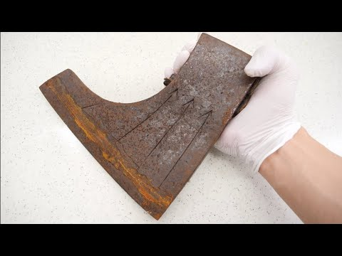 sharpest Japanese Rust Axe in the world