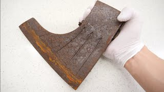 sharpest Japanese Rust Axe in the world