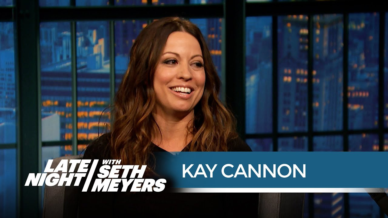 Pitch Perfect Writer Kay Cannon on Filming with the Green Bay Packers -  Late Night with Seth Meyers - YouTube