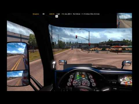 American Truck Simulator-delivery 45-Cables from Grand Canyon Village (AZ) to Sacraento (CA)