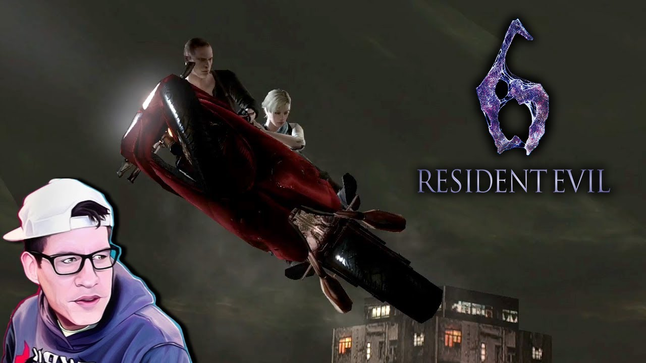 I can show you the world~ - Lawrence Plays Resident Evil 6 Co-op Pt. 2