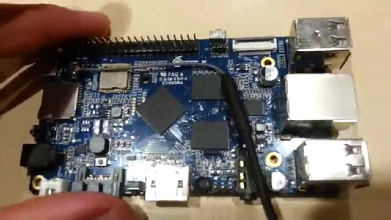 First look at the Orange Pi Plus