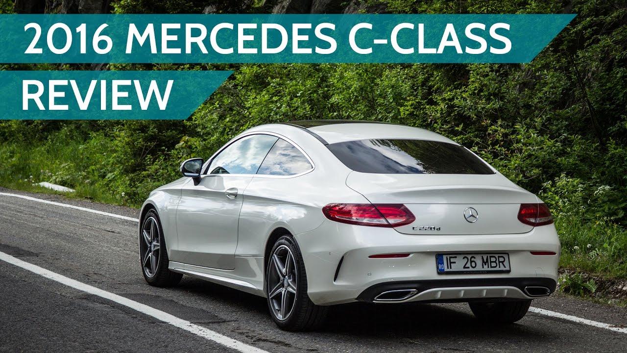 2016 Mercedes Benz C Cl C220d Coupe Review