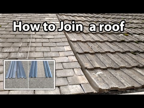 How To Join A Roof Install And Fit A Bonding Gutter