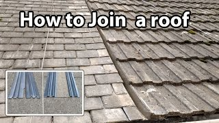 How to Join a Roof - Install and Fit a Bonding Gutter