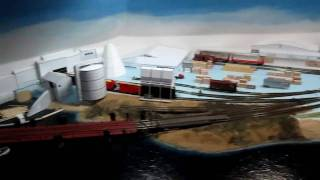 Overview of the N scale Columbia and Western Model Railroad