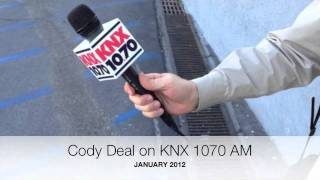 Cody Deal on KNX 1070 AM News Radio