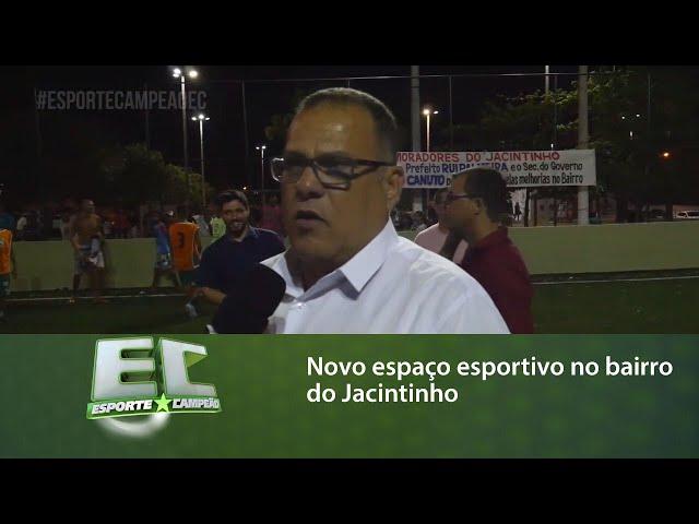 Prefeitura de Maceió inaugura novo espaço esportivo no bairro do Jacintinho