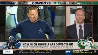 Stephen A. Smith on How much trouble are Cowboys in? | First Take
