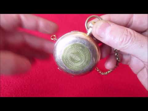 This DIY Enigma machine fits inside a pocket watch