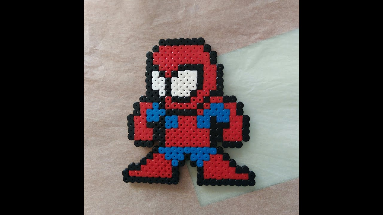 Hama Beads Spiderman