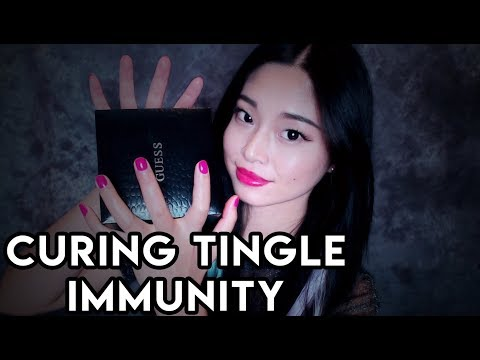 [ASMR] Curing Tingle Immunity with Gentle Tapping and Scratching