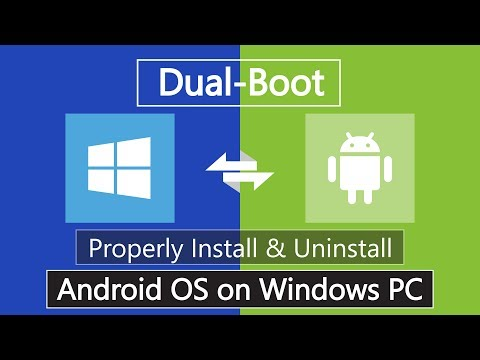 How To Install Android Nougat 7.1 On PC | Dual Boot