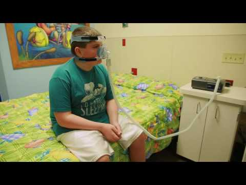 CPAP Instructions for Children