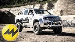 Super-Pickup Challenge | Amarok Delta vs Toyota Hilux Nestle | Motorvision