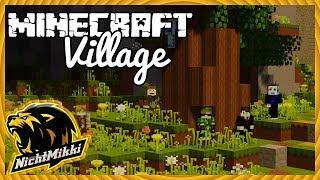 LIVE   Minecraft Village Role Play   Hausbau   NichtMikki