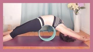 Yin Yoga with Yoga Wheel - Yoga Wheel Backbends & Hip Flexibility {40 min}