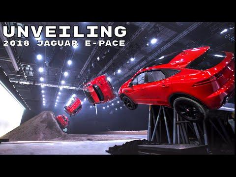 2018 Jaguar E-Pace Unveiling