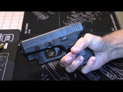 Glock 27 Gen 4 - A nice, small .40 for your pocket!