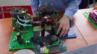"""Творческий проект Лего """"Охота на мамонта"""""""