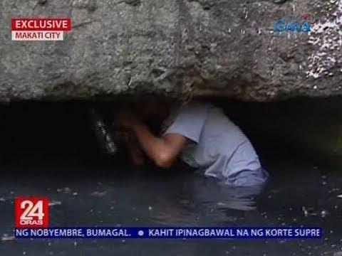 Isa sa mga tinarget ng PDEA sa umano'y drug den, sumuot sa estero para makatakas