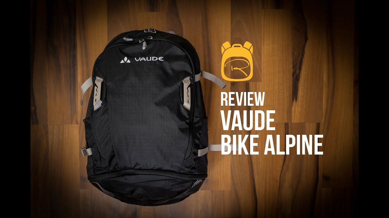hot sale online f1815 cd13a Vaude Bike Alpin 25+5 - Review auf Deutsch - Rucksack Test