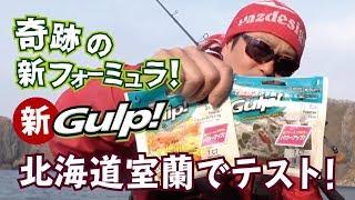 奇跡の新フォーミュラ! Newガルプ!フィールドテスト Berkley Rock Fish World Vol.2  北海道室蘭磯ロック編