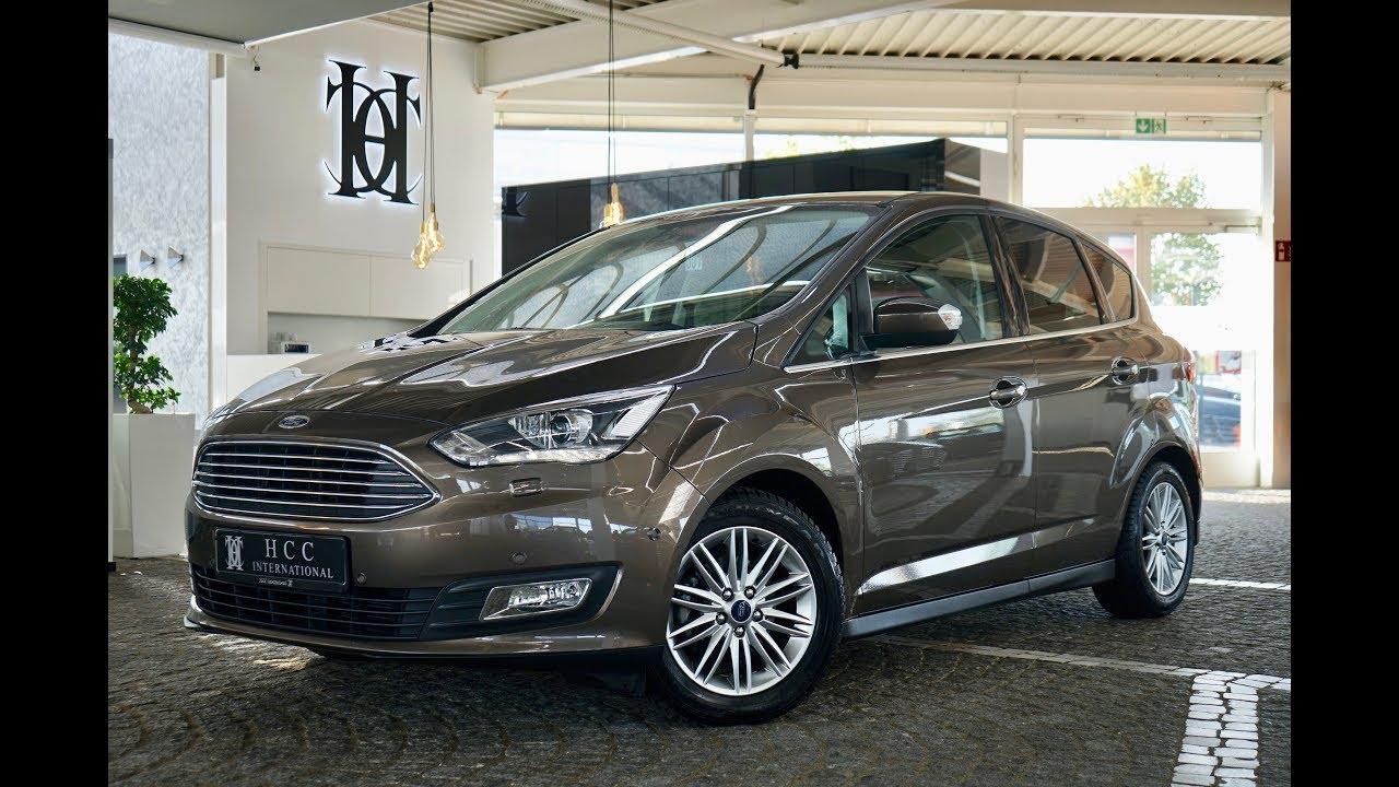 Rewelacyjny HCC-International - Ford C-Max Titanium 1.5 TDCi Modelljahr 2018 OK24