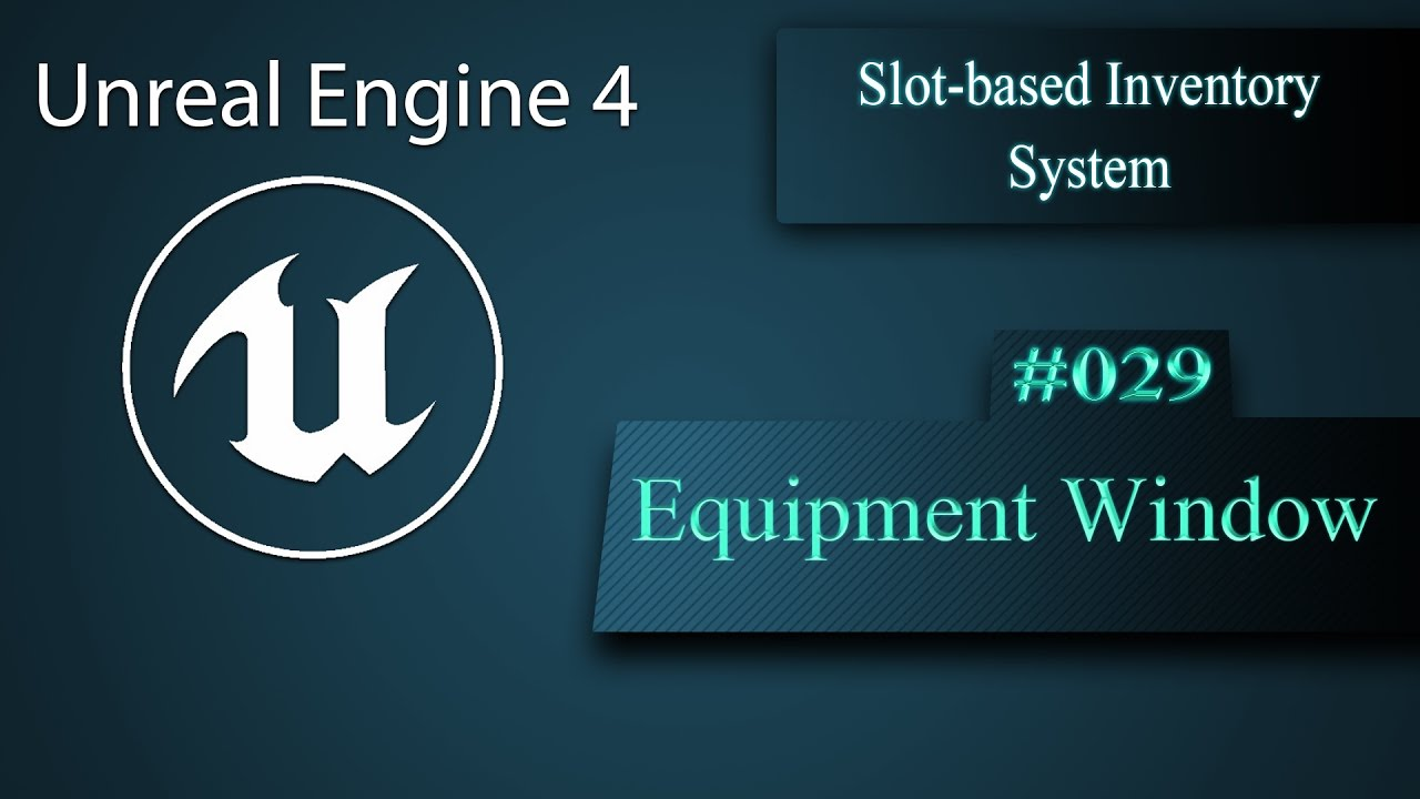 eng slot based inventory system creating an equipment window 029