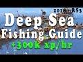 Runescape 3 - Deep Sea Fishing Guide +300k xp/hr!