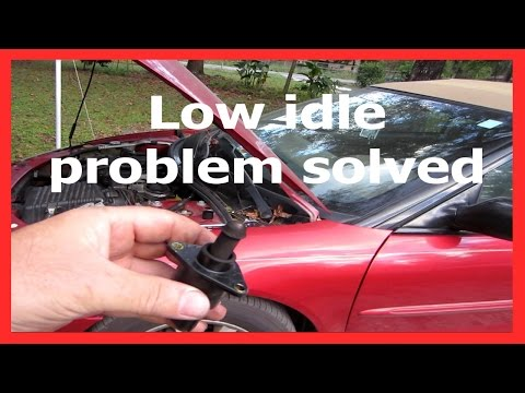 Low idle problem solved