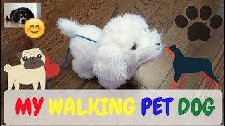 ABC123: My Walking Pet Dog (Maltese) Animated Toy (Fun 4 Kids)