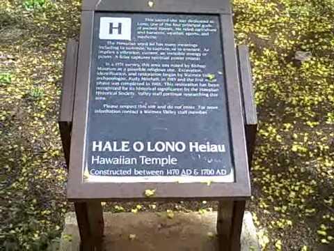 Puuomahuka & Hale o Lono Heiau