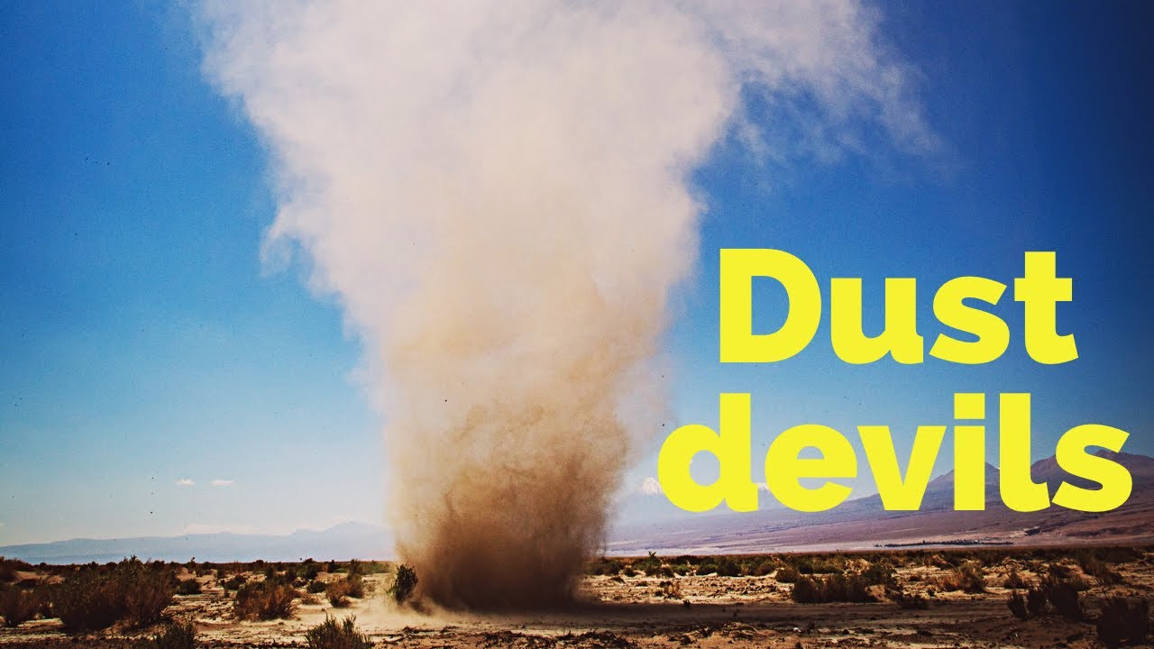 What causes dust devils? - YouTube