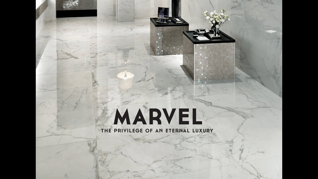 MARVEL FLOORu0026WALL | Marble Look | Atlas Concorde   YouTube