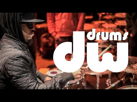 Tony Royster Jr. - Drum session - WikiDrummers 2016