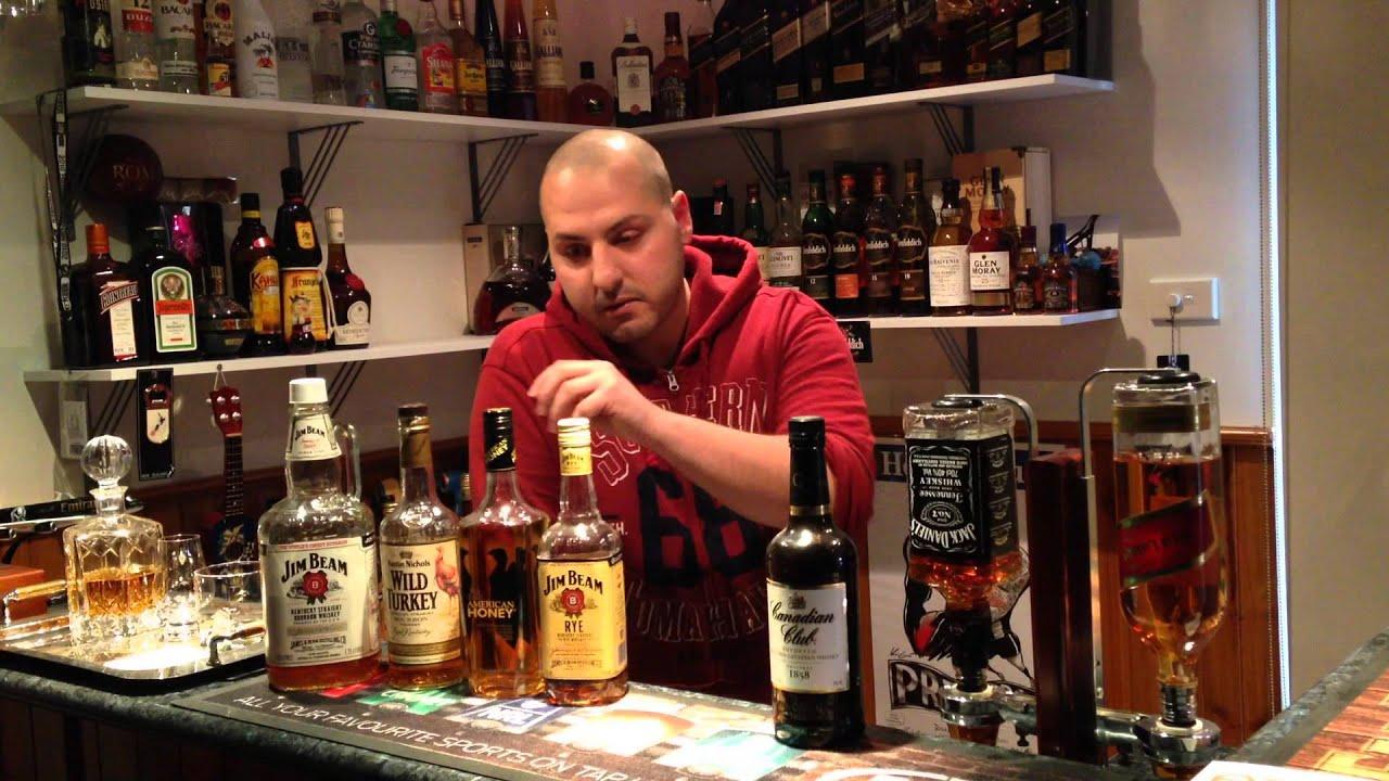 Episode 4 Home Bar Alcohol Essentials Bourbon