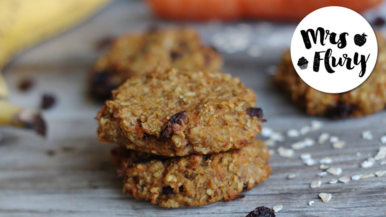 Karotten Apfel Cookies Ohne Zucker Ohne Mehl Gesund Und Lecker
