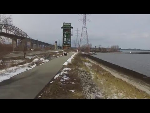 Hamilton Ontario Skyway Beach Drone Flight