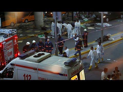 Nationalities of Ataturk airport attackers revealed