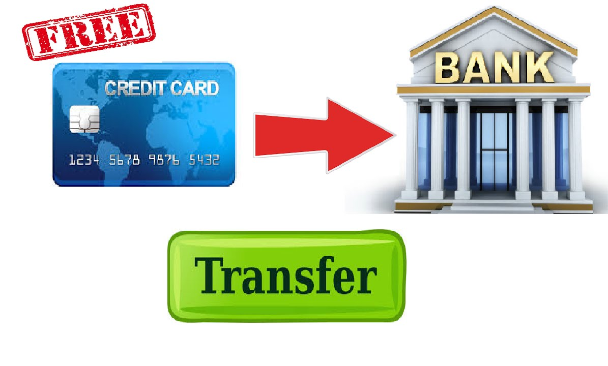 Transfer Money From Credit Card To Bank Account Free