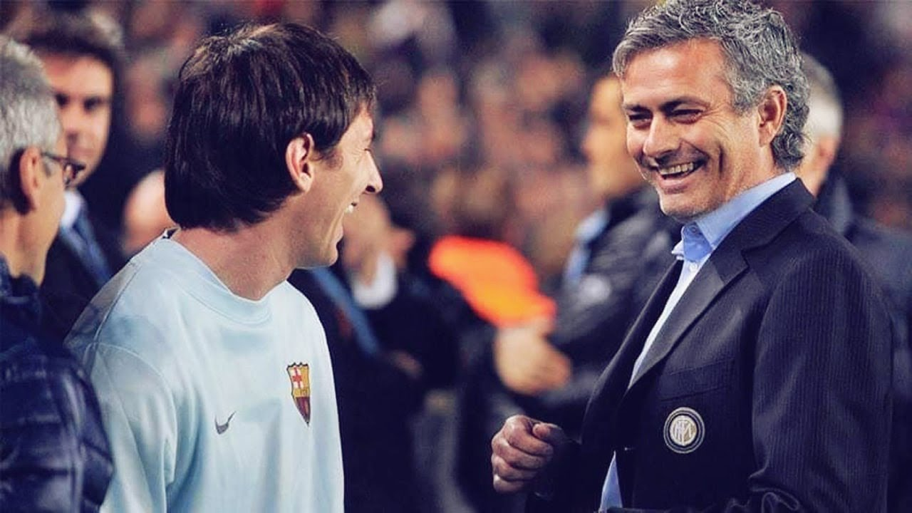 José Mourinho explains the evolution of Lionel Messi | Oh My Goal - YouTube