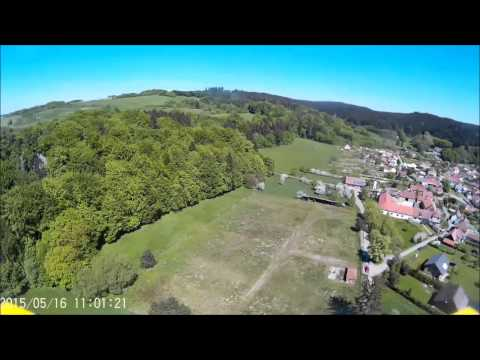 "SJCAM SJ4000 WIFI TEST VIDEO WITH MY HOMEMADE DRONE ""FCZELA"""