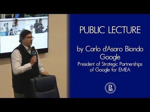 Carlo d'Asaro Biondo: Google's cloud technology and machine learning capabilities