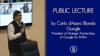Carlo d'Asaro Biondo: Google's cloud technology and machine learning capabilities