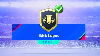 FIFA 19 HYBRID LEAGUES SBC CHEAPEST SOLUTION | SQUAD BUILDING CHALLENGE | FIFA 19